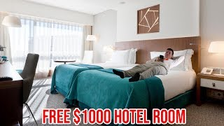 How I got a $1000 hotel room for free