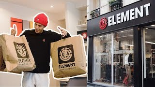 SHOPPING SPREE AT ELEMENT STORE PARIS