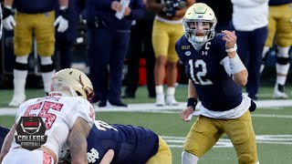 Notre Dame Fighting Irish vs. Boston College Eagles | 2020 College Football Highlights