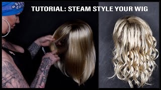 TUTORIAL : How to Steam Style your Wig | MiMo Wigs