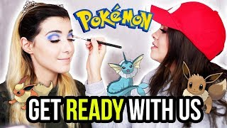 GET READY WITH US! Pokémon Makeover mit AnniTheDuck! 😍