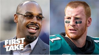 Donovan McNabb didn't owe Eagles fans an apology for Carson Wentz comments - Stephen A.   First Take
