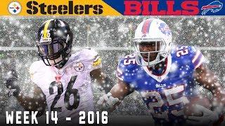 Bell Bulldozes the Bills! (Steelers vs. Bills, 2016)