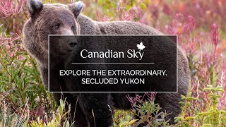 Explore the extraordinary, secluded Yukon with Canadian Sky