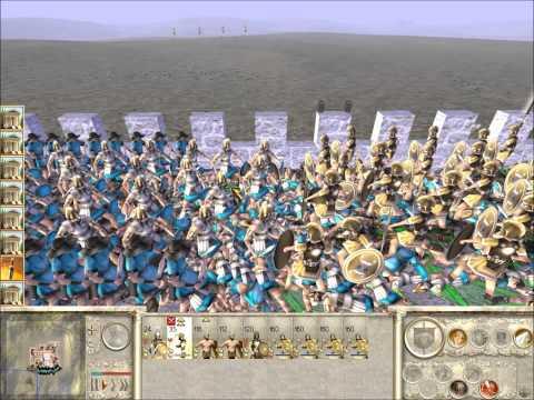 Rome Total War Online Battle #1995: Spain vs Thrace (Live-Commentary Siege)