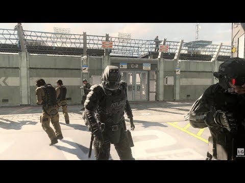 Escaping from the Atlas Facility - Captured - Call of Duty: Advanced Warfare