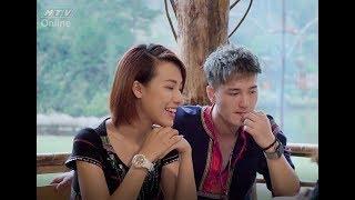 Việt Nam tươi đẹp | Hoàng Oanh, Huỳnh Anh, Quang Bảo hóa người dân tộc K'Ho cực đẹp đôi | HTV VNTD