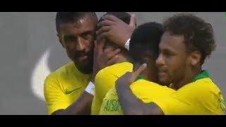 Brezilya-Hırvatistan 2-0 maç özeti HD izle 3 Haziran 2018