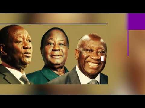 Côte d'Ivoire : Quel est l'état de santé des 3 grandes formations politique ?