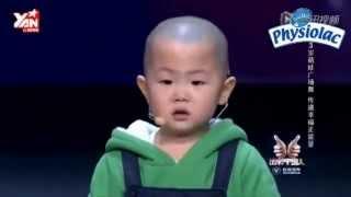 Chú bé Trung quốc 3 tuổi nhảy điệu nghệ - Thuyết minh