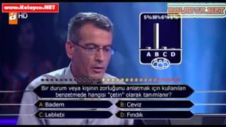 Kim milyoner olmak ister 26 Kasım 2013 289. bölüm Mehmet Alaf