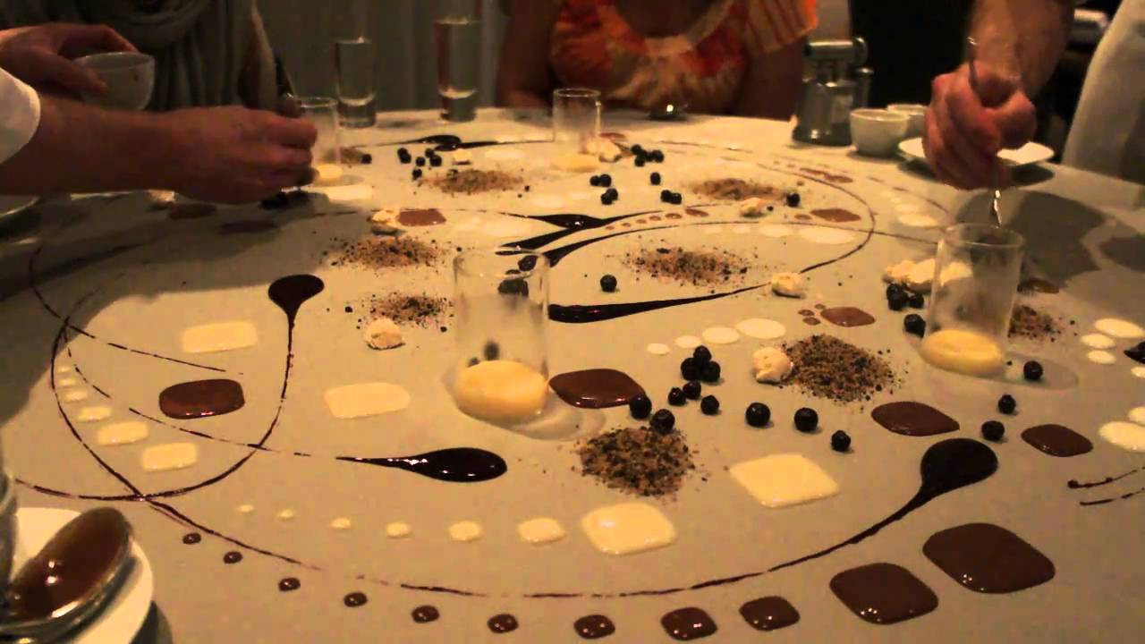 Final Dessert Of 20 Course Meal At Alinea Youtube