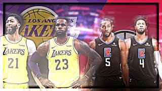 Lakers VS Clippers: The Battle Of LA