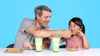 Kids Try Their Parents' Favorite Childhood Foods | Kids Try | HiHo Kids