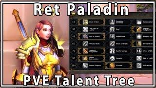 Legion Ret Paladin PVE Guide Talent Build - Savix