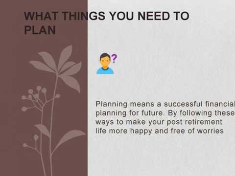 Choose the Best Tips For Happy Retirement Planning