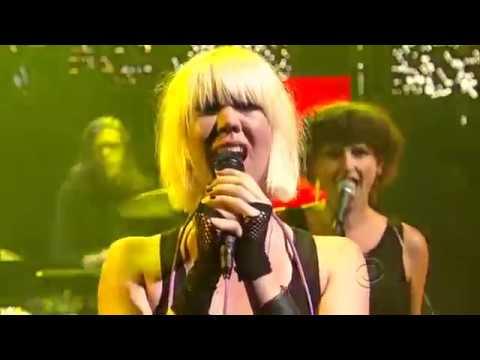 EMA live on David Letterman