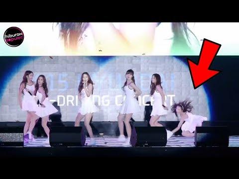 9 Kejadian Memalukan ARTIS KOREA Wanita Saat Live Diatas Panggung