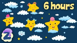 Little Fairy Waltz, French Child's Song 🍼6 Hours Non Stop Baby Lullabies & Relaxing Music 💤