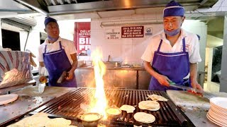 FIRE TACOS Mexican STREET FOOD Tour with 5 MEXICAN GUYS | Mexico City, Mexico