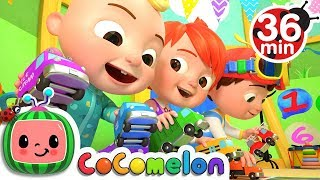 The Car Color Song | +More Nursery Rhymes & Kids Songs - CoCoMelon