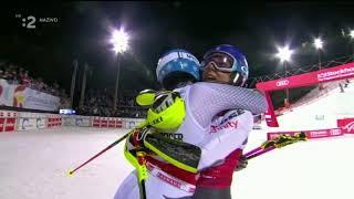 Mikaela Shiffrin & Ramon Zenhäusern Win Parallel Slalom Stockholm SWE 2019 Vlhova 8st