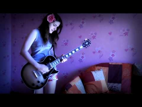 Muse - Showbiz (guitar cover HD)