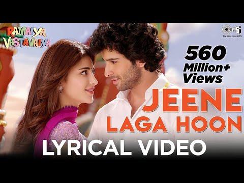 Jeene Laga Hoon Bollywood Sing Along - Ramaiya Vastavaiya - Girish Kumar, Shruti Haasan