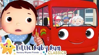 Wheels On The Bus! Baby Bus! +More Nursery Rhymes & Kids Songs - ABCs and 123s   Little Baby Bum