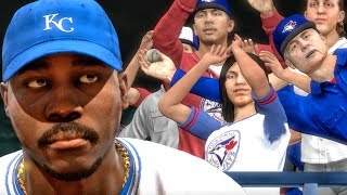 OLD MAN STEALS HOME RUN BALL FROM WOMAN! MLB The Show 17 Road to the Show Gameplay Ep. 23