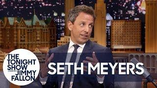 Seth Meyers Recounts His Baby's Dramatic Apartment Lobby Birth