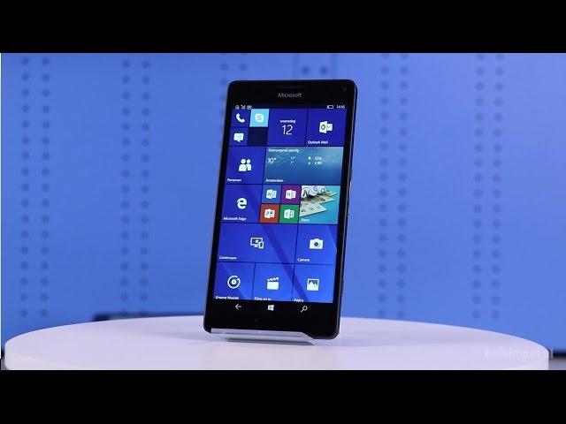 Belsimpel-productvideo voor de Microsoft Lumia 950 XL