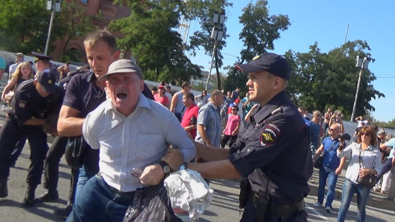 Волгоград: аресты сторонников Навального на фоне выборов