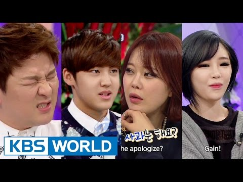 Hello Counselor - Baek Jiyoung, Gain, Huh Gak & Song Yuvin (2015.04.20)