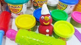 Funny Christmas Modelling Clay | Learn Colors with FunToys Collection