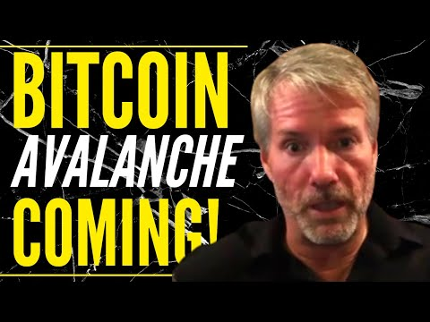 Michael Saylor There is an AVALANCHE coming for Bitcoin, Blackrock buys Bitcoin & Bitcoin Prediction