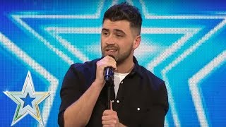 Christopher King goes country and gets a Golden Buzzer   Auditions Series 1   Ireland's Got Talent