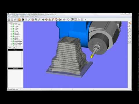 CARSO 5X CAD/CAM - Virtual Milling and Rest Milling
