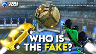 6 Freestylers vs 2 Fake Freestylers (Rocket League Odd Man Out)