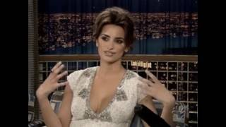 "Penelope Cruz on ""Late Night with Conan O'Brien"" - 3/31/05"