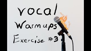 Vocal Warm up exercise 3
