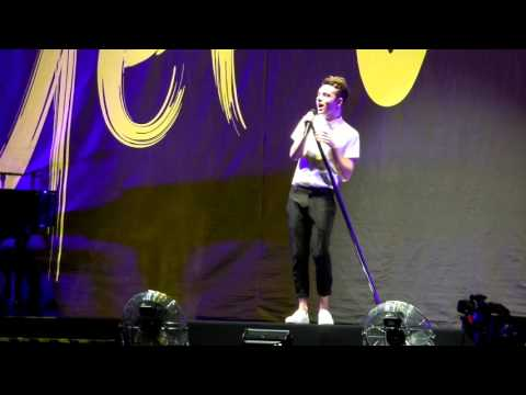 Little Mix GetWeirdTour- ThinkingOutLoud  (Nathan Sykes)