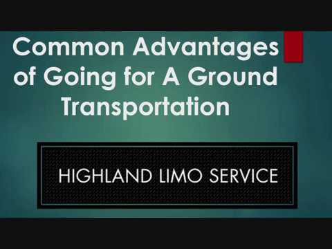 Common Advantages of Going for A Ground Transportation