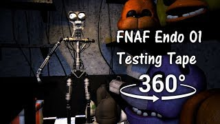 360°| Endo 01 Testing Tape 1991 - Five Nights at Freddy's 1 [SFM] (VR Compatible)