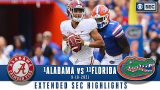 #1 Alabama vs #11 Florida: Extended Highlights   CBS Sports HQ