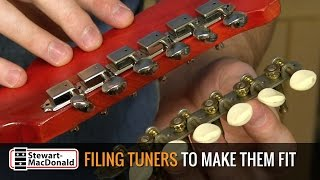 Watch the Trade Secrets Video, Filing tuners to make them fit