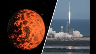 Space X launches Nibiru Probe-Sun Going Dark-Fireball Blast Causes Earthquake