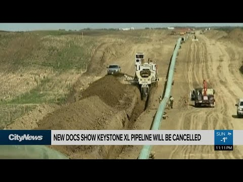 Documents say Keystone XL pipeline will be cancelled