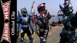 Armor Heroes Fights with Monsters - Official English Clip  [HD 公式] - 59