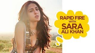 Sara Ali Khan Interview | Rapid Fire with Sara Ali Khan | Filmfare Exclusive